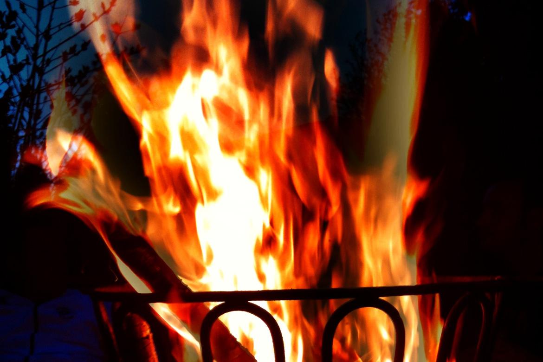 Feuerkorb Romantik