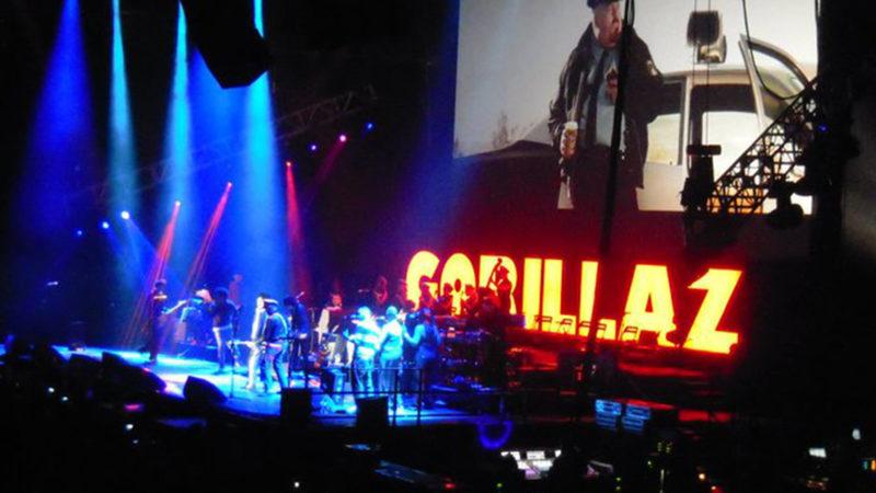 Gorillaz-Konzert