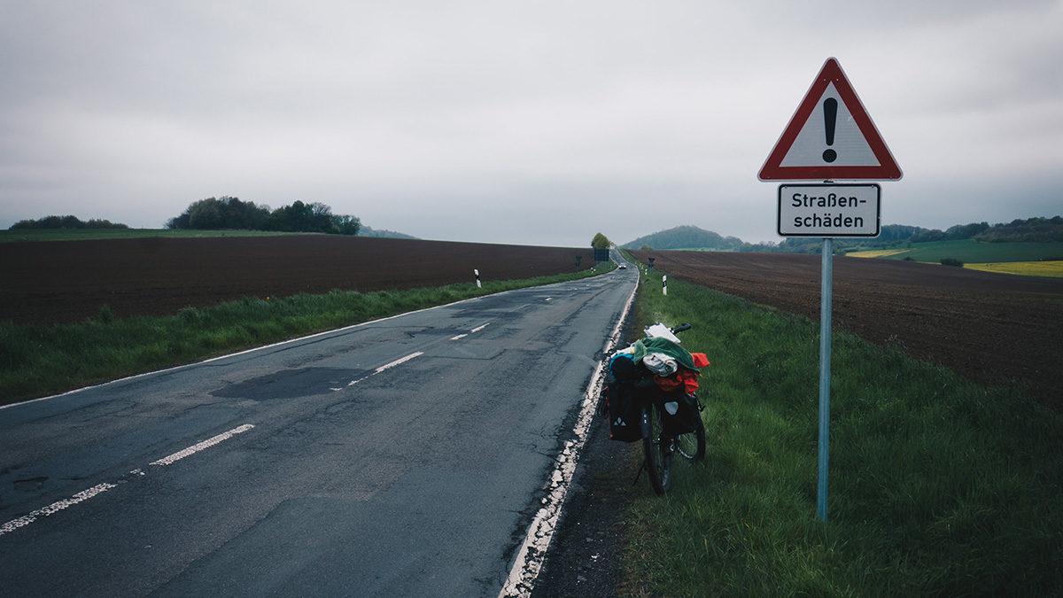 Radtour-Einsame-Landstrasse