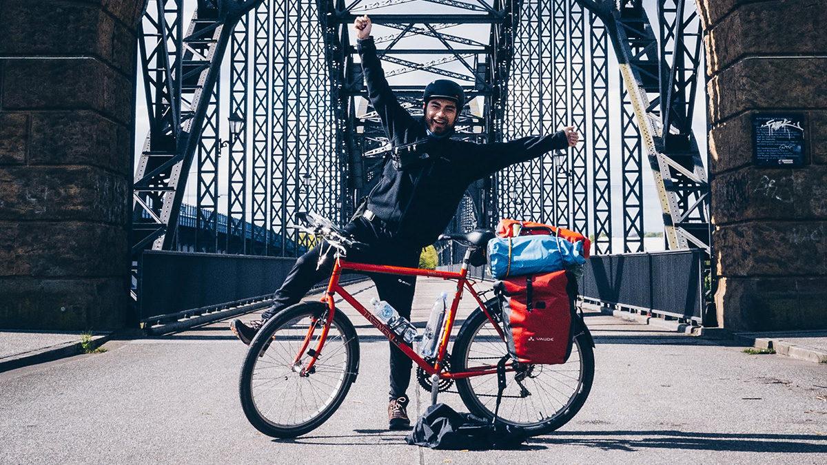 Radtour-Start-Aufbruch