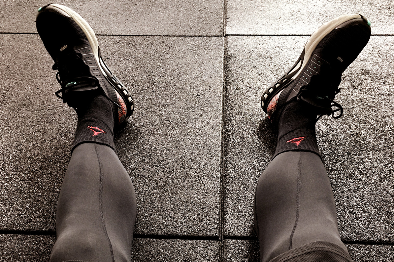 Laufen - Laufschuhe Pause