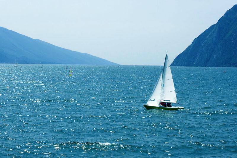 Segeln auf dem Gardasee