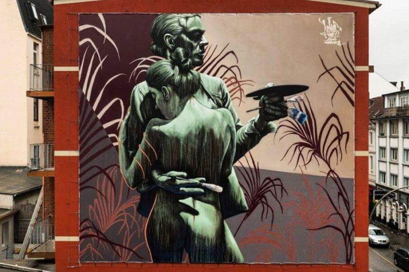 """Mural – """"Die vergängliche Kunst vor unserer Haustür"""""""