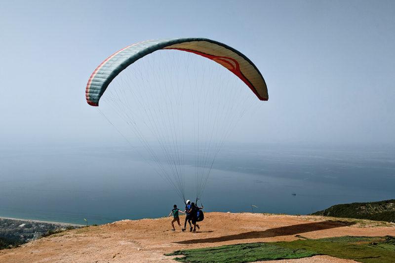 Paragliding und Jetski in Alanya